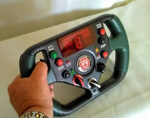 # Jaguar Formula 1 Steering Wheel. # Full size