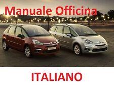 Citroen C4 Picasso e gran Picasso 2006/2013 Manuale OFFICINA Riparazione ITALIAN