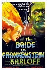 Bride Of Frankenstein Movie Poster Large 24inx36in
