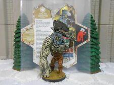Heroscape Custom Yurl the Corrupted Dbl Sided Card & Figure w/ Sleeve Valkrill