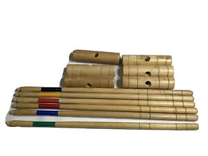 Lot Professional Hand Made Wooden CROQUET MALLETS Maple Wood 6