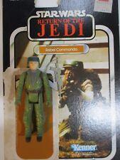 Star Wars Vintage Rebel Commando cardback 1982 Kenner Action Figure Collection