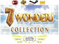 Pack 4 - 7 Wonders Magical Mystery Tour,Treasures of... PC Digital STEAM KEY