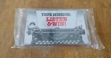 Paramount Pictures Mission: Impossible Your Mission Listen & Win Cassette NEW!