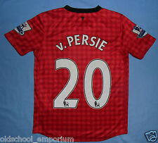 MANCHESTER UTD / 2012-2013 Home - Van PERSIE #20 - NIKE - Shirt / Jersey. 10-12y