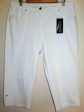 Stylish White Sportswave 3/4 Length Pants - Style 1683 - Size 16 - BNWT