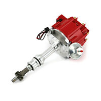 Ford 302 351C Cleveland 460 Early 6000 Series 65K Coil HEI Distributor [Red]