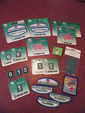 Lot of 21 Misc Girl Scout Patches, Pins, Numbers, Ribbons, Flags North Alabama