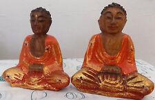 Piccolo Buddha in legno cm 10x7x5  ETNICO  Shiva Ganesh serenità divinità