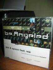 JAM & SPOON FEAT. REA BE ANGELED CD SINGLE NUOVO SIGILLATO