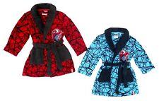 Bademantel Spiderman 98 104 110 blau rot Morgenmantel Bademode weich Marvel