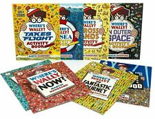 Wheres Wally Amazing Adventures and Activities Collection 8 Books Bag Set