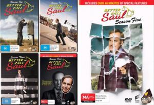 Better Call SAUL - Complete Season 1 2 3 4 5 : NEW DVD