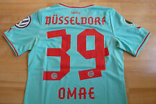 Fortuna Düsseldorf Pokal Trikot hellblau 2013-14  #39 Genki Omae Gr.S  DFB Patch