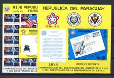 Paraguay Block 279/80 postfrisch / Weltraum ............................. 2/2221