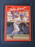 1990 Donruss ROBIN YOUNT Milwaukee Brewers Baseball Card #146 MINT Free Shipping