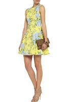 RAG & BONE Yellow Ruby Floral Print Silk A-line Dress new us 2/4/6