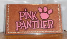 PINK PANTHER CHECKBOOK COVER # 1. TV CARTOONS. FREE SHIPPING