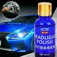 9H Hardness Auto Car Headlight Len Restorer Repair Liquid Polish Cleaning Tools