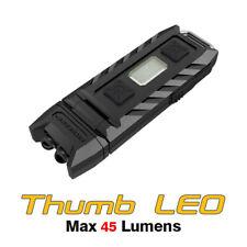 NiteCore Thumb LEO UV USB Rechargeable Ultraviolet Worklight  Flashlight Torch
