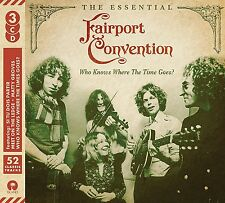 FAIRPORT CONVENTION WHO KNOWS WHERE THE TIME GOES THE ESSENTIAL 3 CD (31/3/2017)