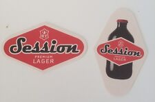 Session Premium Lager Beer Mat/Coaster New Free Shipping!