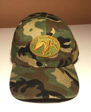 Mens Camo Hunting Hat Cap Realtree Duck Commander, Adjustable Size