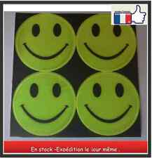 Smiley Retro-réfléchissant - catadiope -Stickers - Autocollants