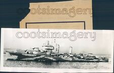 1942 US Navy Destroyer Ship USS Kearny DD-432 Press Photo
