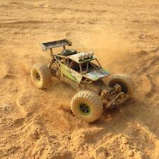 Coche RC 4-WD Off-Road Crawler Buggy Camión Rock Rueda Alta Velocidad Suspensión