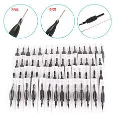60 x Tattoo Einweg Set Griffe Nadeln Spitzen in 12 Modelle Schwarz Needle Tips