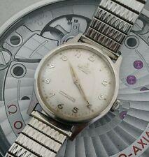 Rare Mens 1960s LANCO Swiss Made All Steel 17 Jewels Wind Up Wrist Watch