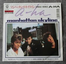 A-ha, manhattan skyline / we're looking for the whales, SP - 45 tours Japon