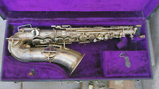 1926 Martin Low Pitch Alto Saxophone Elkhart Handcraft Selmer w/case