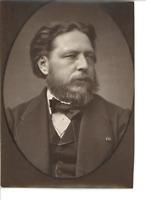 France, Antoine Vollon, peintre réaliste français  Vintage print.  Photoglypti