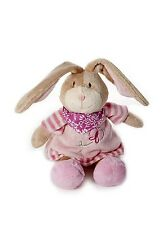 Baby Girl Pink Bunny Rabbit Plush Stuffed Animal Soft Toy Teddy