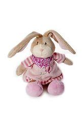 Baby Girl Pink Bunny Rabbit Plush Stuffed Animal Soft Toy Teddy