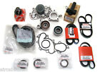 15 Piece 3.4L engine TIMING BELT KIT WATER PUMP  Genuine & OE Manufacture Parts!