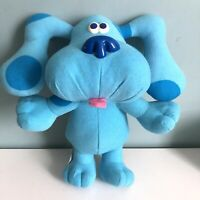 Fisher Price Blues Clues Sing A Long Blue Musical Barking Dog Plush Vintage Rare