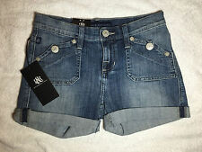 NWT $58 - Rock and Republic Misses Stinger Pelican Jean Shorts - Size 0