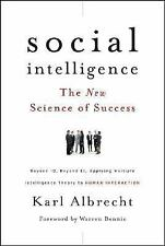 Social Intelligence: The New Science of Success, Albrecht, Karl, Good Condition,
