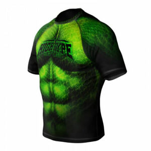 HighType Monster BJJ Rash Guard Shorts Leggings MMA Fightwear Compression