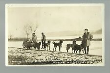 CANADA RP1936 CROSS-COUNTRY Traveler Travelers DOG TEAM B.J. Carroll B.C. to N.S
