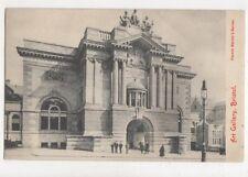 Art Gallery Bristol Vintage Postcard 753a