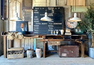 Fabulous Rustic Former Jewellers Workbench / Table