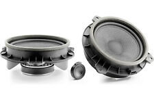 "FOCAL IS-165TOY 6.5"" DIRECT UPGRADE COMPONENT SPEAKERS ALUMINUM TWEETERS NEW"