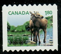 Canada #2509ii Baby Wildlife : Moose Die-Cut from Coil MNH
