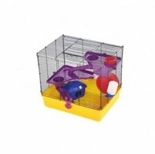 1 BRAND NEW HAMSTER MOUSE GERBIL SMALL ANIMAL INDOOR CAGE WITH ACCESSORIES