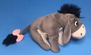 "Mattel Disney Eeyore 7"" Plush Winnie The Pooh Beanie Stuffed Animal Toy GUC"