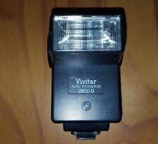 Vivitar Auto 2800-D Shoe Mount SLR/Rangefinder Camera Flash Unit